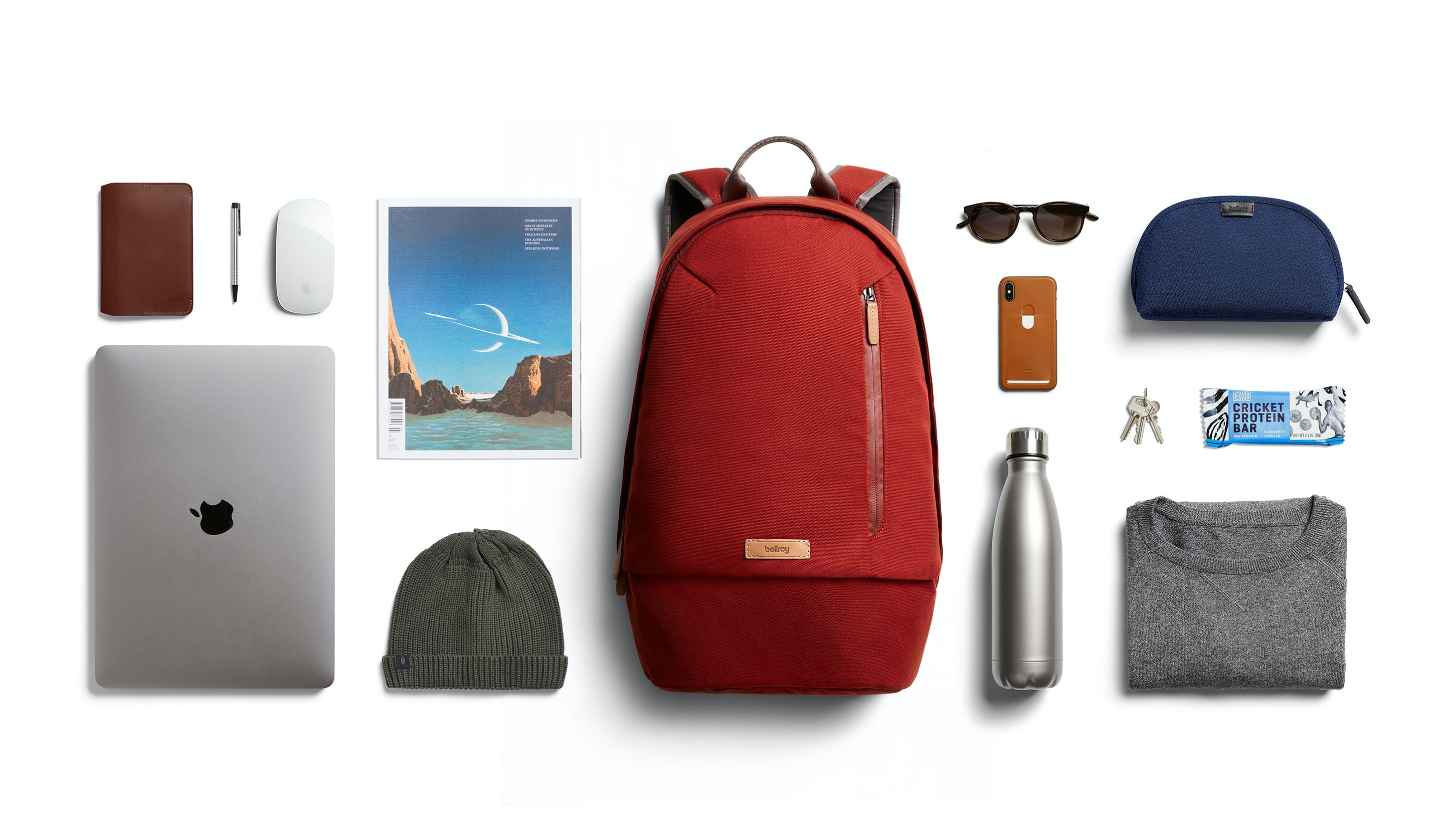 Campus backpack explode images