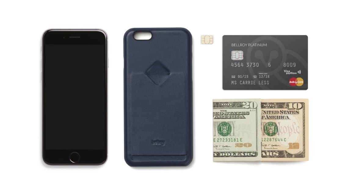 timeless design c8907 ac49c Phone Case 1 Card | Leather Phone Case with Card Slot | Bellroy