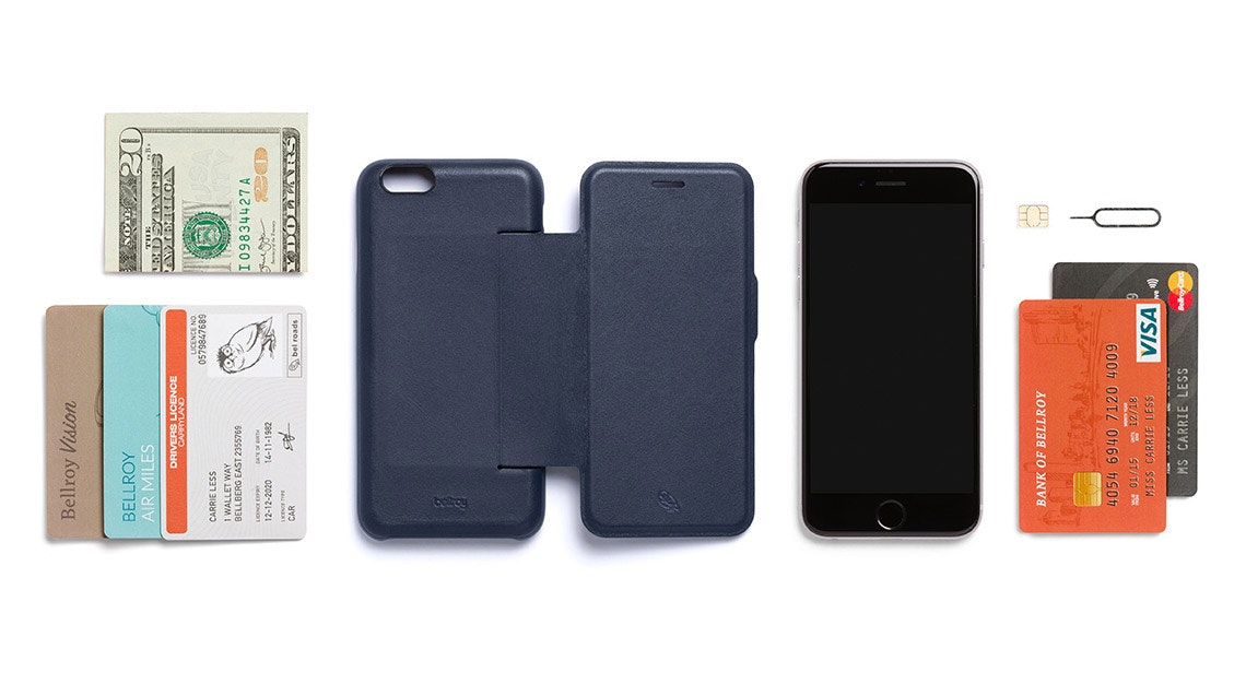 b5e6d8f336 Phone Wallet | Leather iPhone Case With Flip Cover | Bellroy