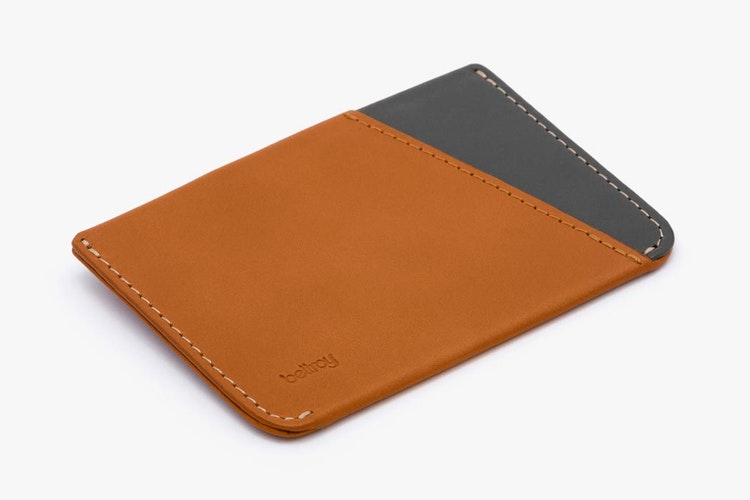 edd6a8bb2d4 Micro Sleeve  Slim Leather Card Holder Wallet